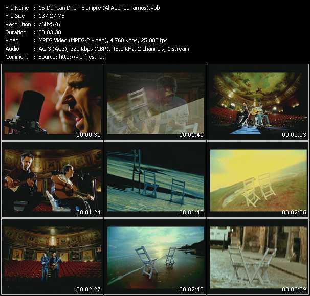 Duncan Dhu - Siempre (Al Abandonarnos)