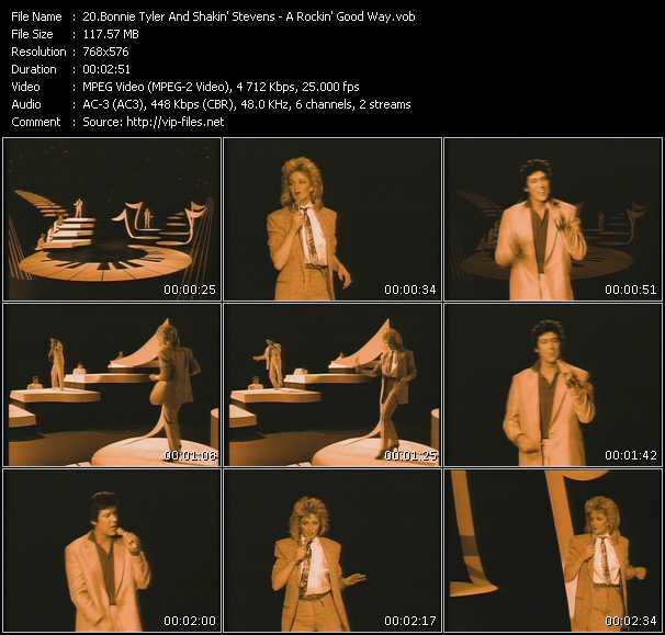 Bonnie Tyler And Shakin' Stevens - A Rockin' Good Way