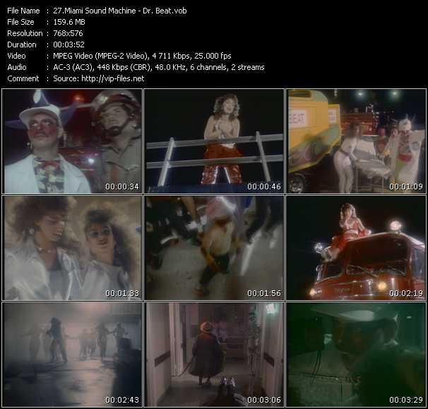 Gloria Estefan And Miami Sound Machine - Dr. Beat