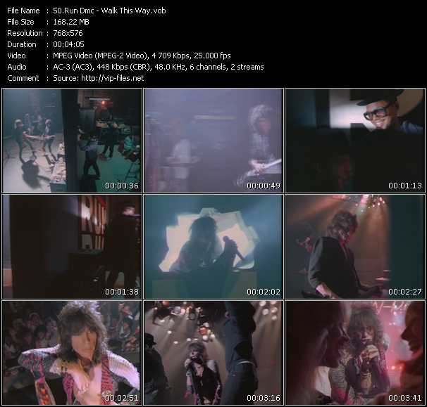 Run DMC Feat. Aerosmith - Walk This Way