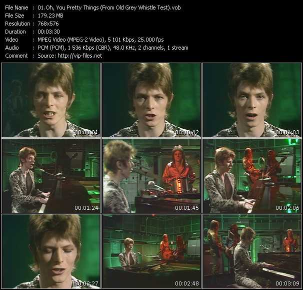 "David Bowie - Oh, You Pretty Things (From ""Old Grey Whistle Test"")"