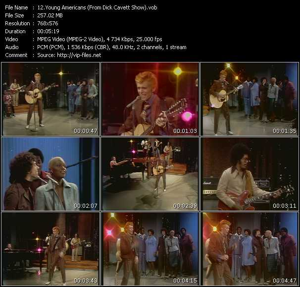 David Bowie - Young Americans (From Dick Cavett Show)