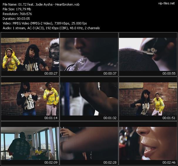 T2 Feat. Jodie Aysha - Heartbroken