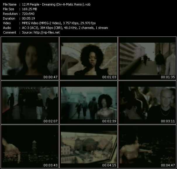 M People - Dreaming (Div-A-Matic Remix)