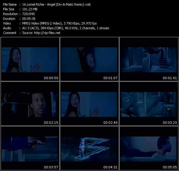 Lionel Richie - Angel (Div-A-Matic Remix)