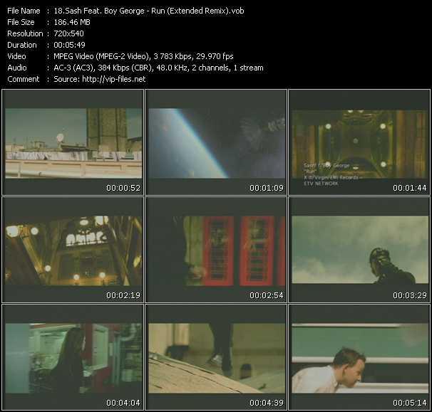 Sash! Feat. Boy George - Run (Extended Remix)