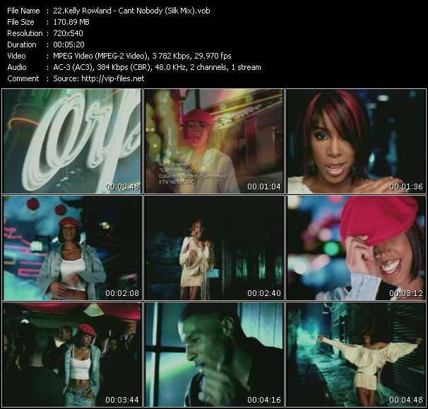 Kelly Rowland - Cant Nobody (Silk Mix)