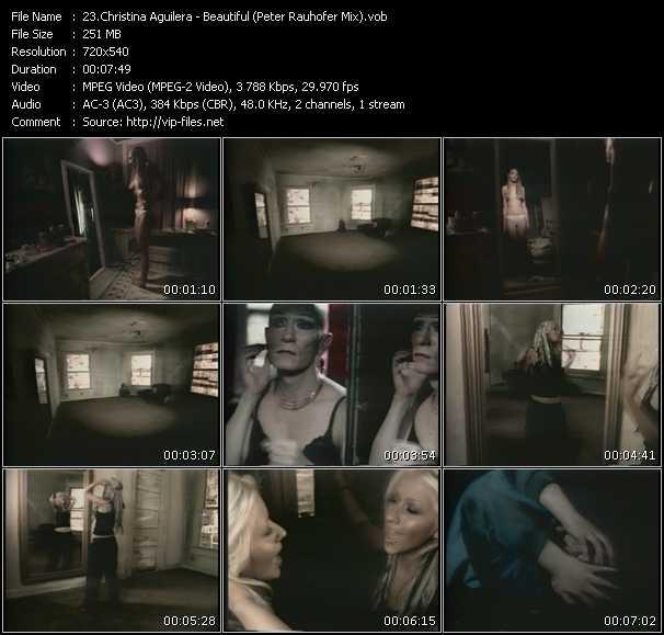 Christina Aguilera - Beautiful (Peter Rauhofer Mix)