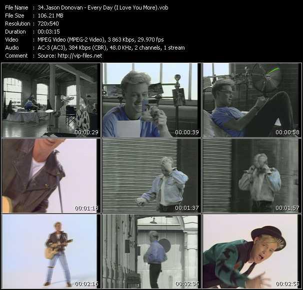 Jason Donovan - Every Day (I Love You More)