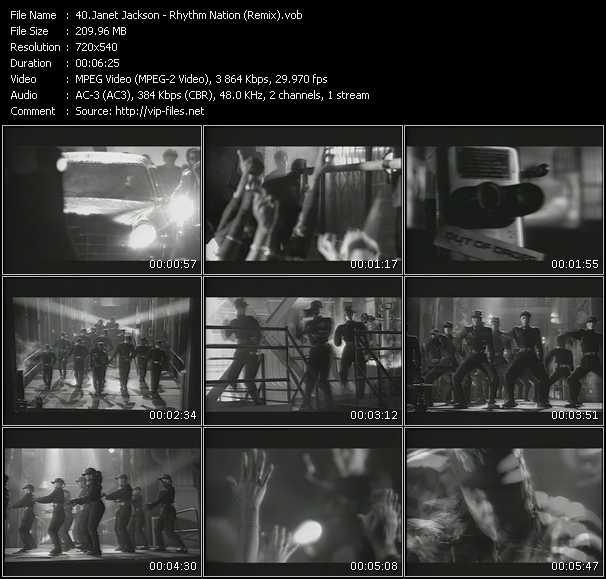 Janet Jackson - Rhythm Nation (Remix)