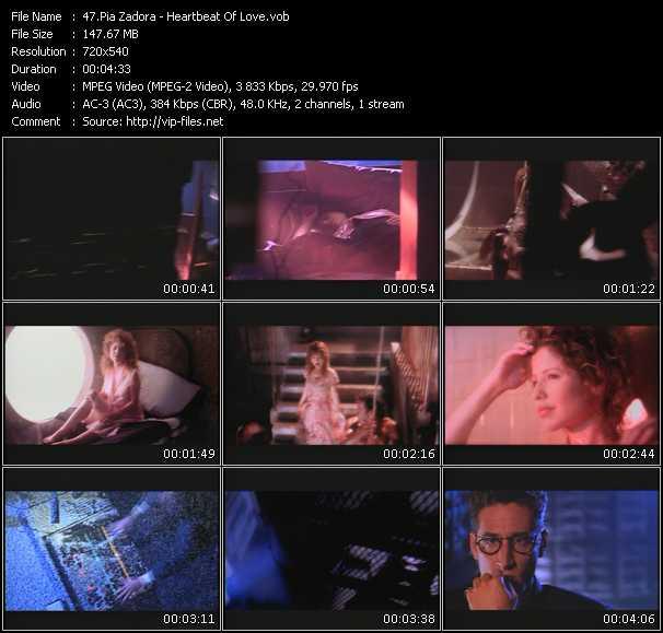 Pia Zadora - Heartbeat Of Love