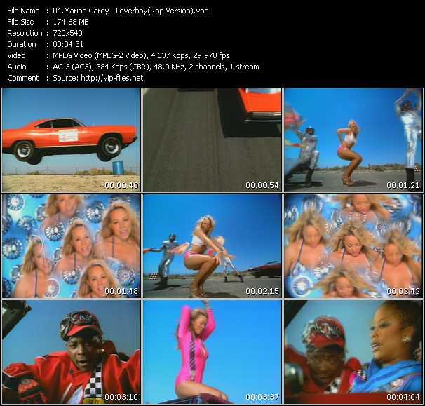 Mariah Carey - Loverboy (Rap Version)