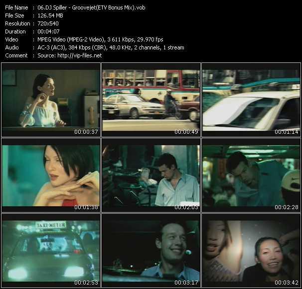 Spiller - Groovejet (ETV Bonus Mix)