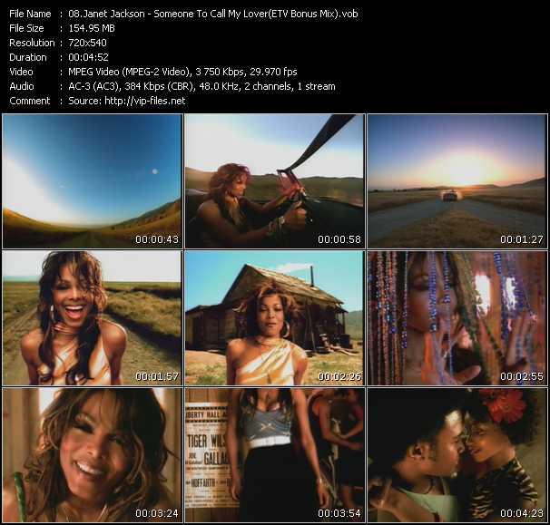 Janet Jackson - Someone To Call My Lover (ETV Bonus Mix)