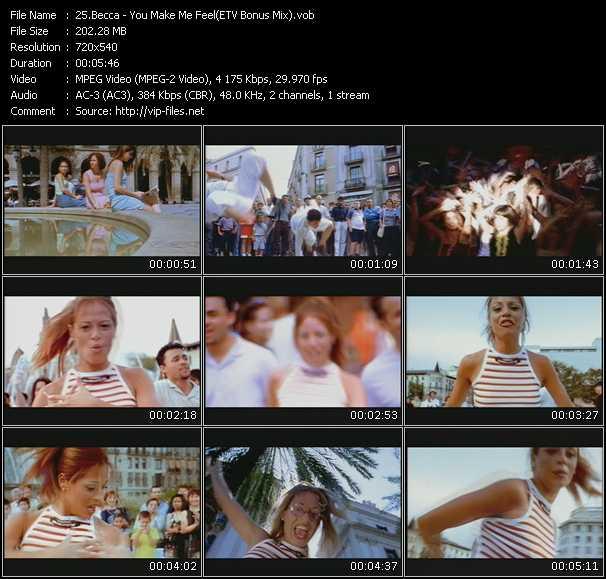 Becca - You Make Me Feel... (More And More) (ETV Bonus Mix)