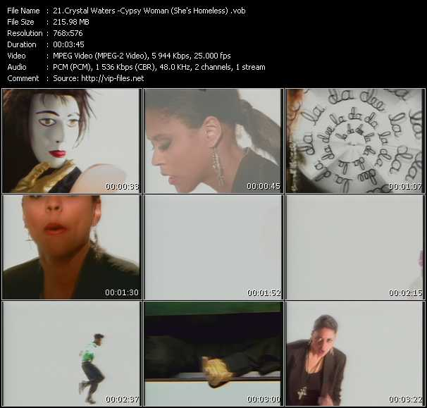 Crystal Waters - Cypsy Woman (She's Homeless)