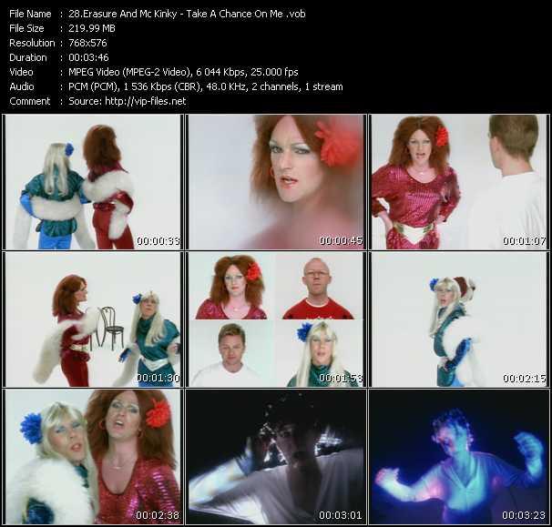 Erasure And Mc Kinky - Take A Chance On Me
