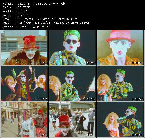 Damian - The Time Warp (Remix)