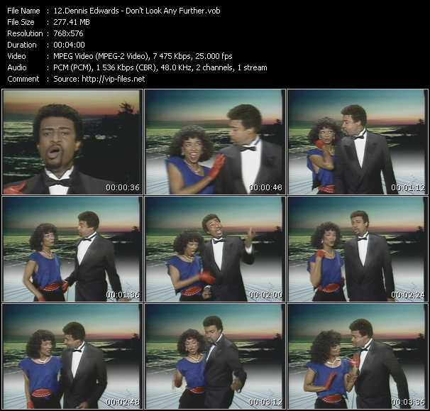 Dennis Edwards Feat. Siedah Garrett - Don't Look Any Further
