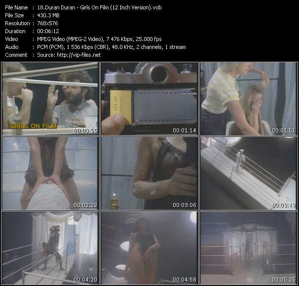 Duran Duran - Girls On Film (12 Inch Version)