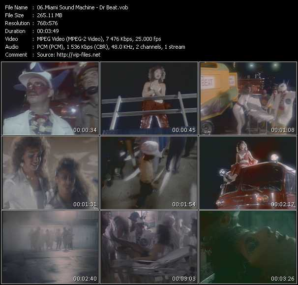Gloria Estefan And Miami Sound Machine - Dr. Beat
