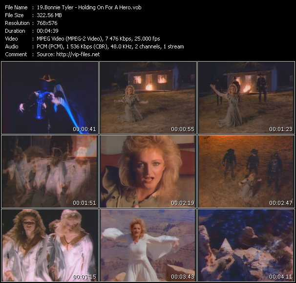 Bonnie Tyler - Holding On For A Hero