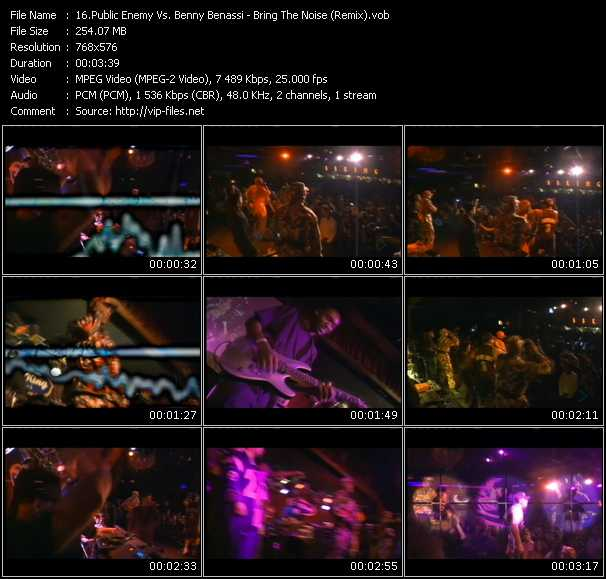 Public Enemy Vs. Benny Benassi - Bring The Noise (Remix)