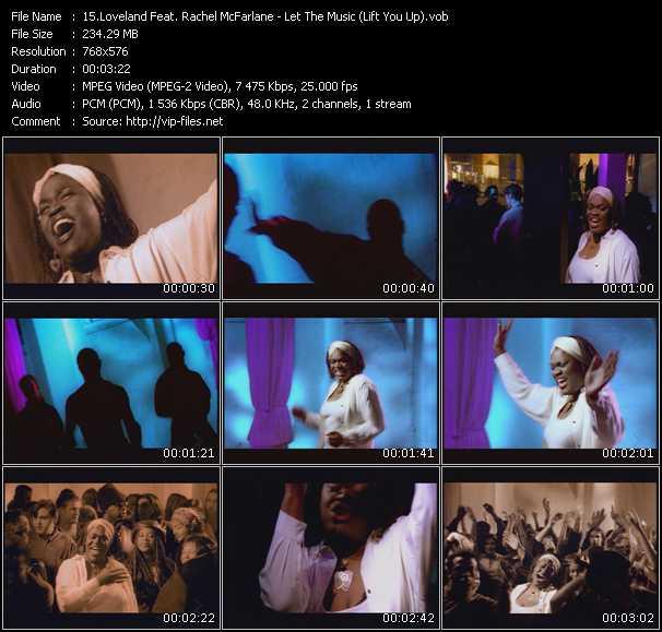 Loveland Feat. Rachel McFarlane - Let The Music (Lift You Up)