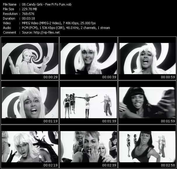 Candy Girls - Fee Fi Fo Fum