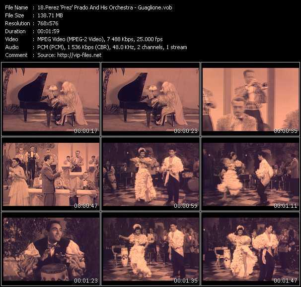 Perez 'Prez' Prado And His Orchestra - Guaglione