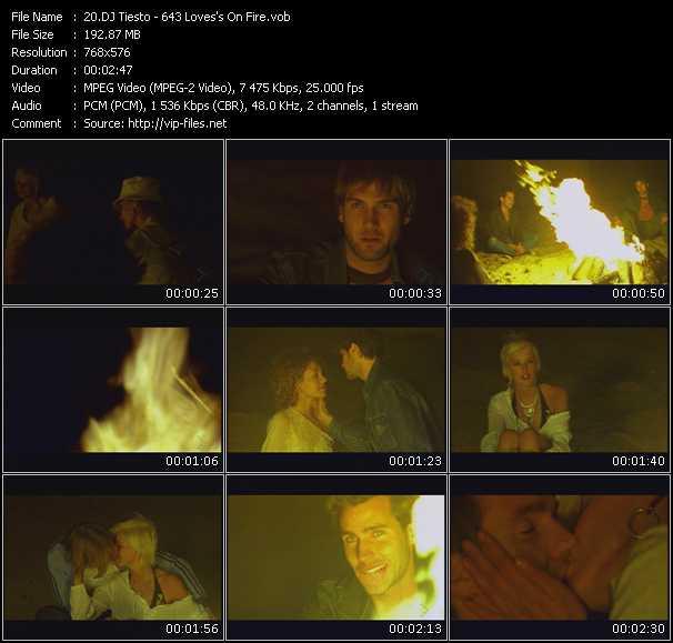 Tiesto - 643 Loves's On Fire