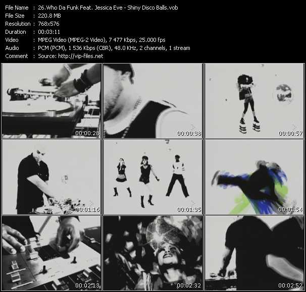 Who Da Funk Feat. Jessica Eve - Shiny Disco Balls