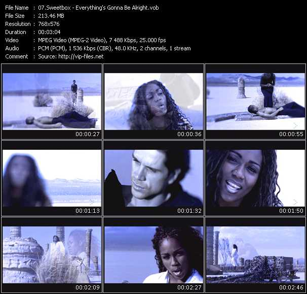 Sweetbox - Everything's Gonna Be Alright