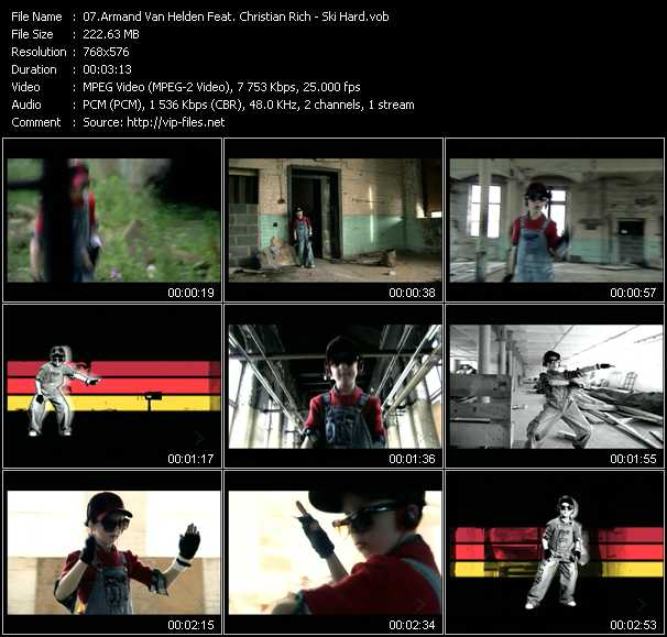 Armand Van Helden Feat. Christian Rich - Ski Hard