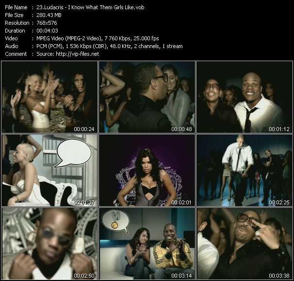 Ludacris - I Know What Them Girls Like