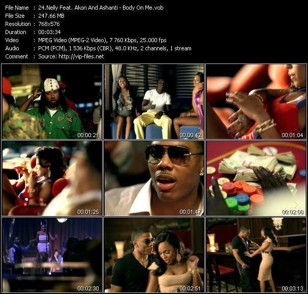Nelly Feat. Akon And Ashanti - Body On Me