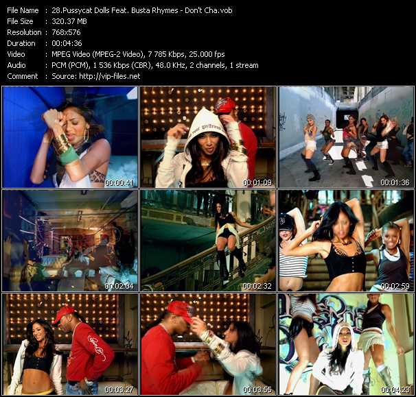 Pussycat Dolls Feat. Busta Rhymes - Don't Cha