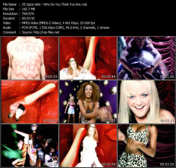 Spice Girls - Who Do You Think You Are?