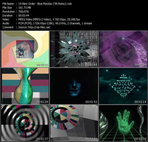 New Order - Blue Monday ('95 Remix)