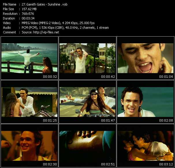Gareth Gates - Sunshine