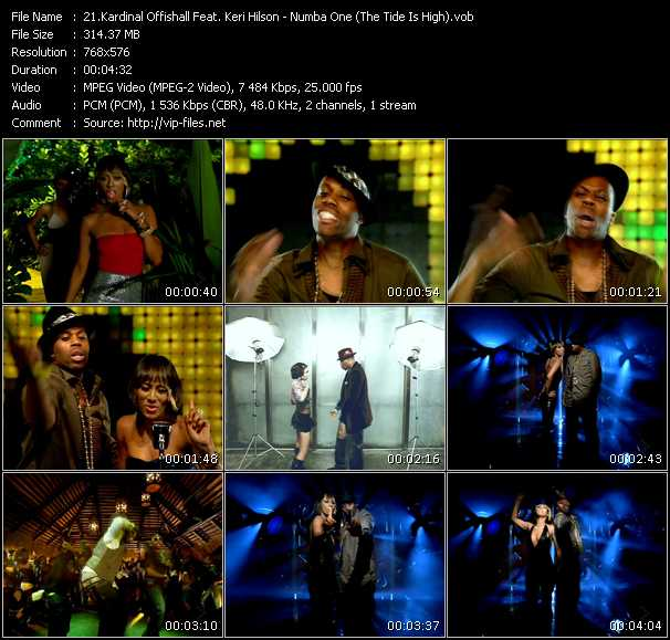 Kardinal Offishall Feat. Keri Hilson - Numba 1 (Tide Is High)