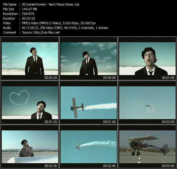 Daniel Powter - Next Plane Home