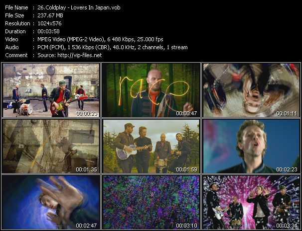 Coldplay - Lovers In Japan