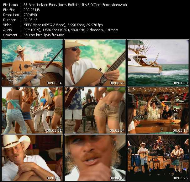 Alan Jackson And Jimmy Buffett - It's 5 O'Clock Somewhere