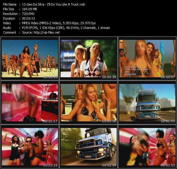 Geo Da Silva - I'll Do You Like A Truck
