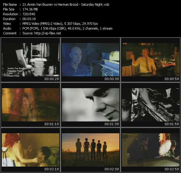 Armin Van Buuren Vs. Herman Brood - Saturday Night