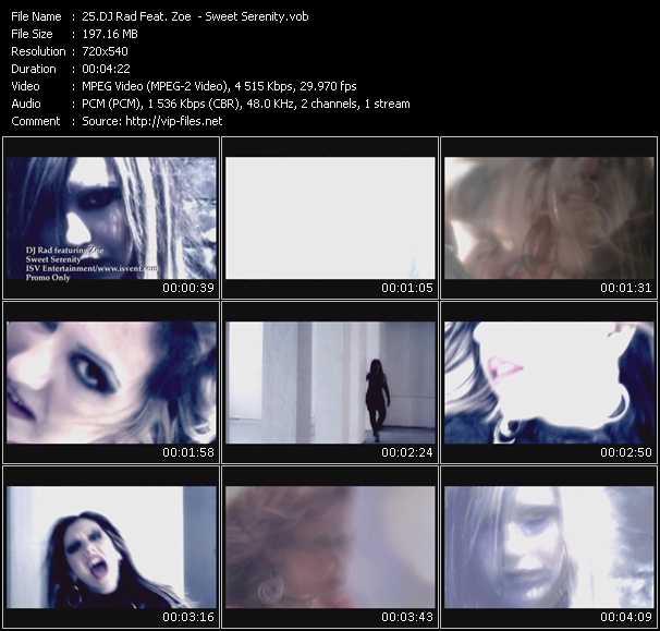 Dj Rad Feat. Zoe - Sweet Serenity