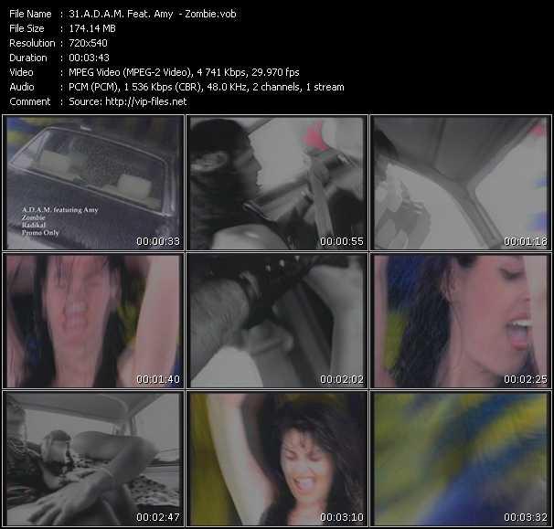 A.D.A.M. Feat. Amy - Zombie