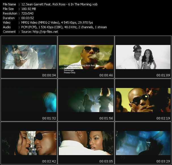 Sean Garrett Feat. Rick Ross - 6 In The Morning