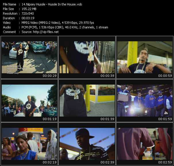 Nipsey Hussle - Hussle In the House
